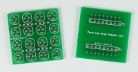 5mm Panels LED array PCB with adapter