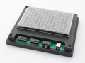 Microplate holder for LED board