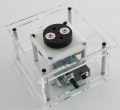Desktop stir plate acrylic enclosure