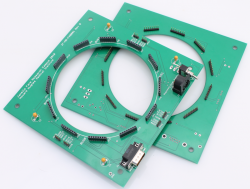 Pair of 12-ring Arena PCB - TOP and BOTTOM