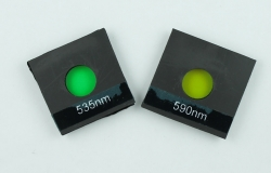 Emission filters showing the magnetic side
