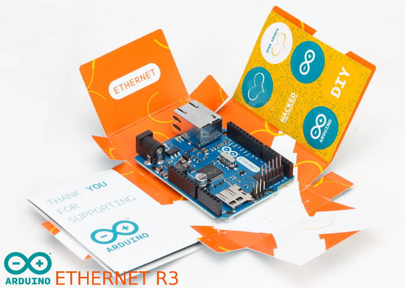 Arduino Ethernet Shield W5100 - Accueil - DROTEK